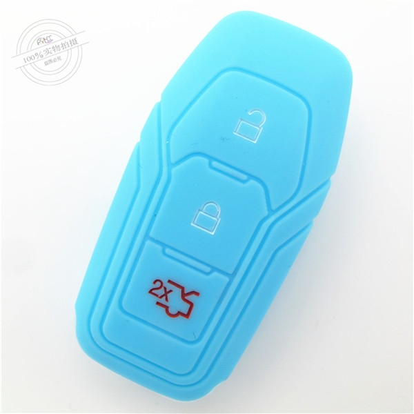Ford Mondeo key remote fob covers|cases|protectors|skins without logo,3 buttons,a variety of colors,completely natural silicone.