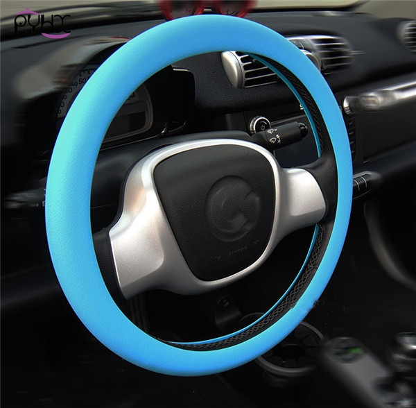 Silicone steering wheel covers for Fiat,6 colors.