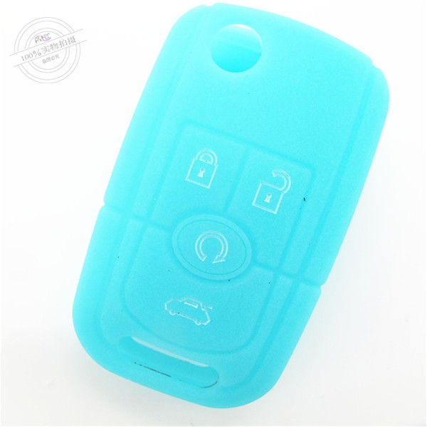 Buick silicone key wallet, car key cover,smart key shell for Buick,light car silicone key case,multi-buttons key bag
