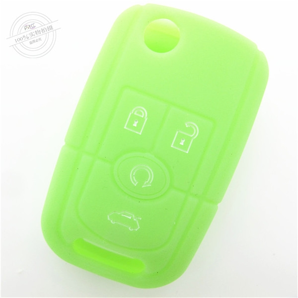hot sale car key covers,wholesale car key covers for Buick,light silicone car key case,most popular creative silicone car key covers,car remote key case