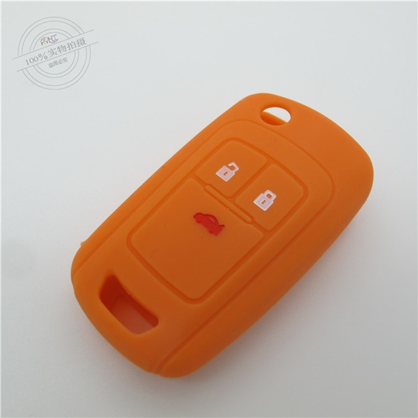 car key covers,Buick key protector,3 buttons,light car key shell,good quality key covers,hot sale car key case,convenient silicone key holder