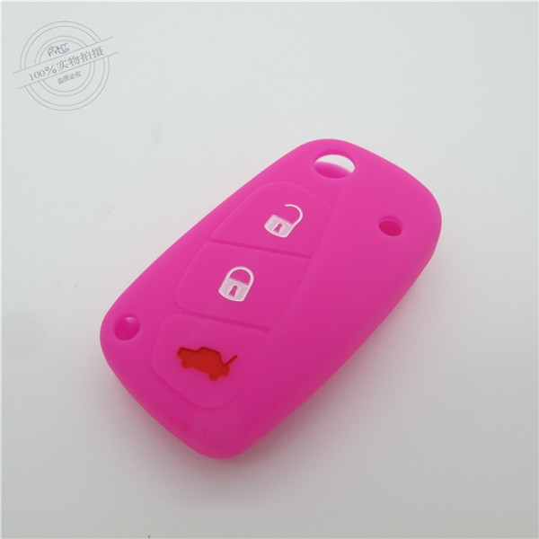 Fiat car key covers, silicone...