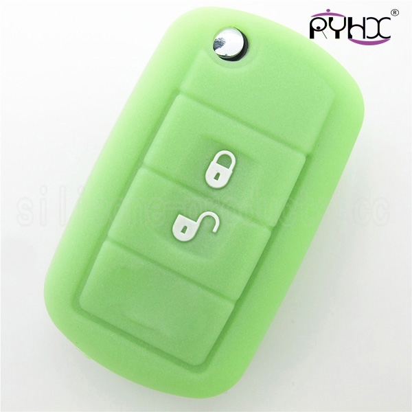 silicone car key cover case for 2 button Range Rover key/remote.