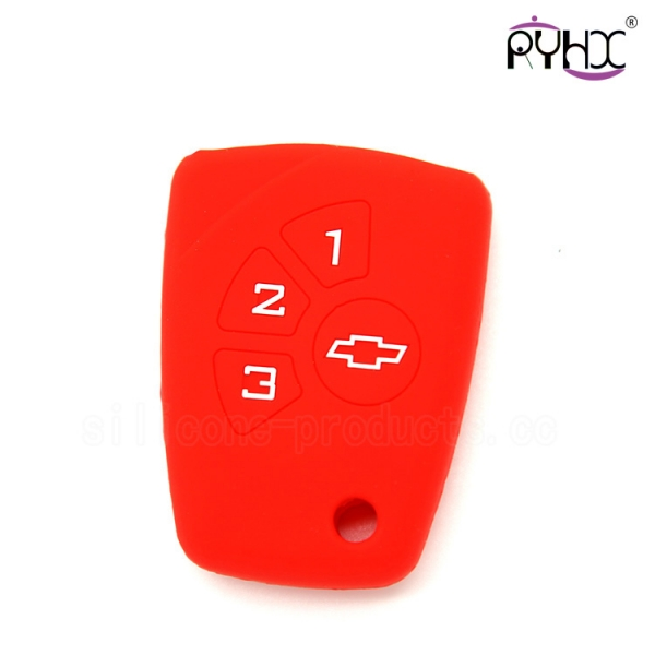 Chevrolet silicone car key sh...