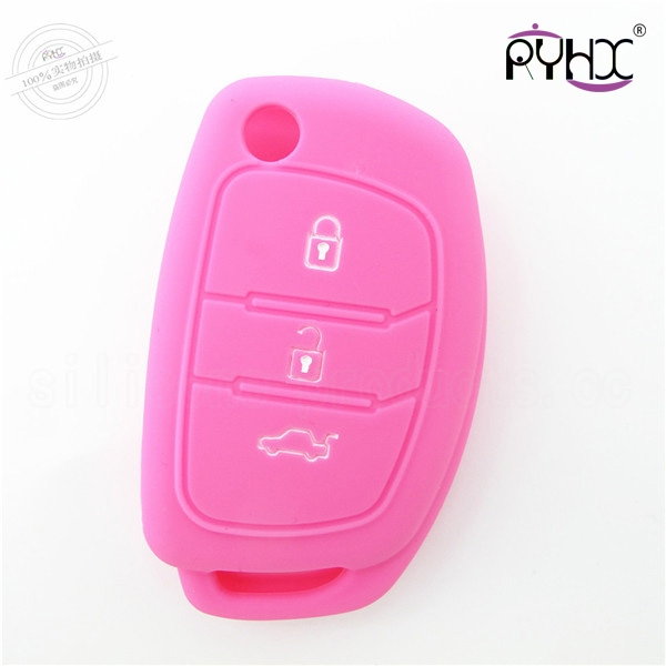 Hyundai mistra silicone key covers, silicone car key shell for Hyundai, wholesale car key silicone protective protector