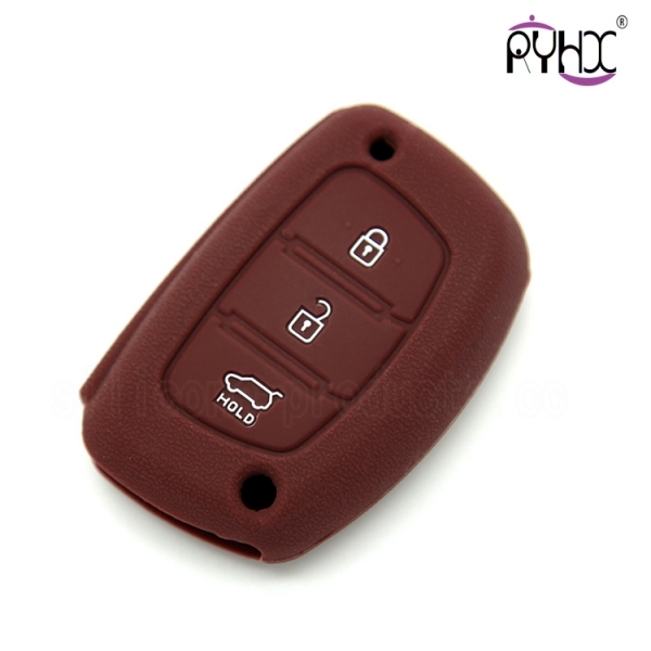 Hyundai IX25 silicone car key pouch, wholesale non-toxic silicone car key covers, no odor silicone key case, suitable key silicone shell for Hyundai
