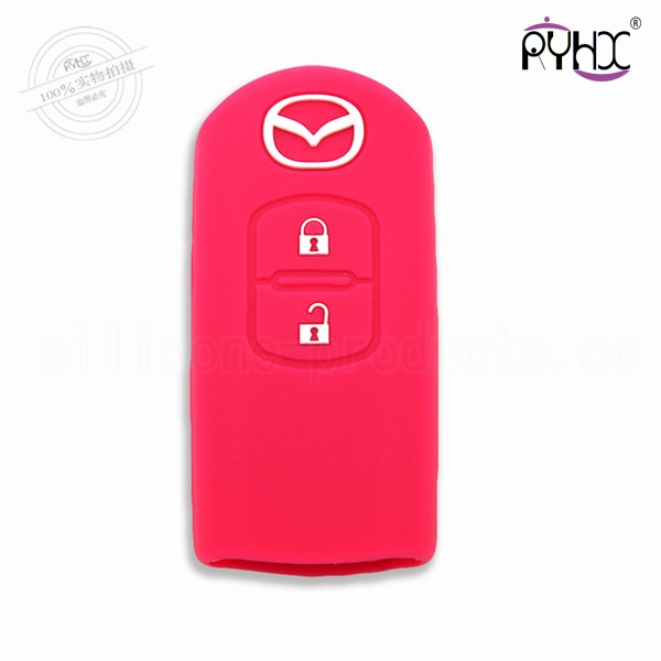 Mazda car key silicone case m...