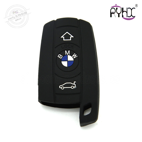 X3 car key cover,black,3 butt...