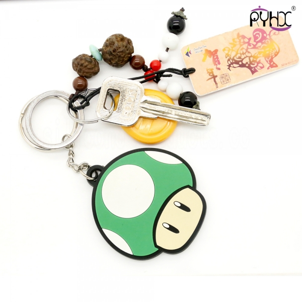 pvc car keychain, silicone car...