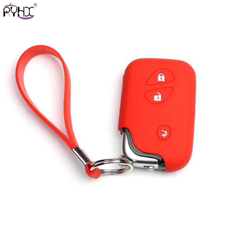 red lexus key case cover 2