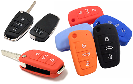 The Silicone Cover For Audi-Flip Key Model B