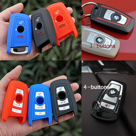 The Silicone Cover For BMW-Smart Key Model C