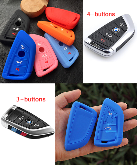 The Silicone Cover For BMW-Smart Key Model E