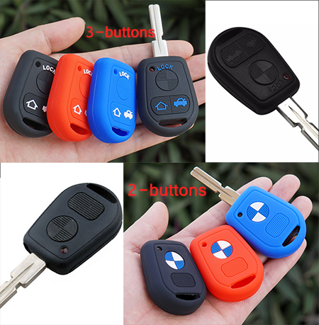 The Silicone Cover For BMW-Standard Key Model B