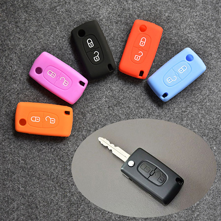silicone-cover-for-Citroen-C2-C3-C5-remote-key-fob