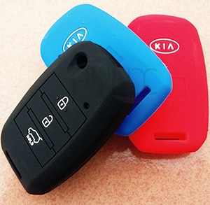 High Quality KIA K3 Bongo Carens Silicone key cover(3 button).