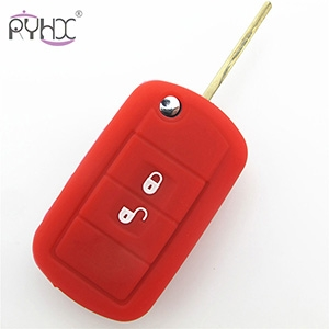 High quality Land Rover 2button silicone Key fob Covers