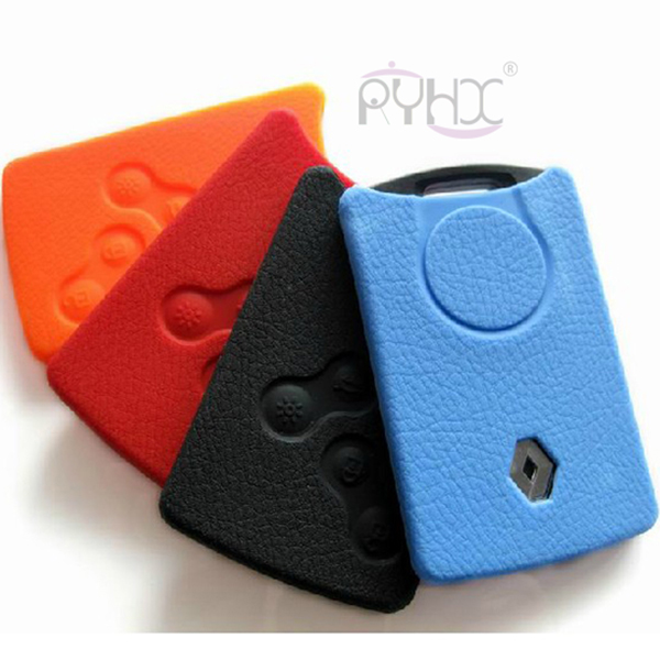 4 button Renault Laguna Megane Koleos silicone key covers