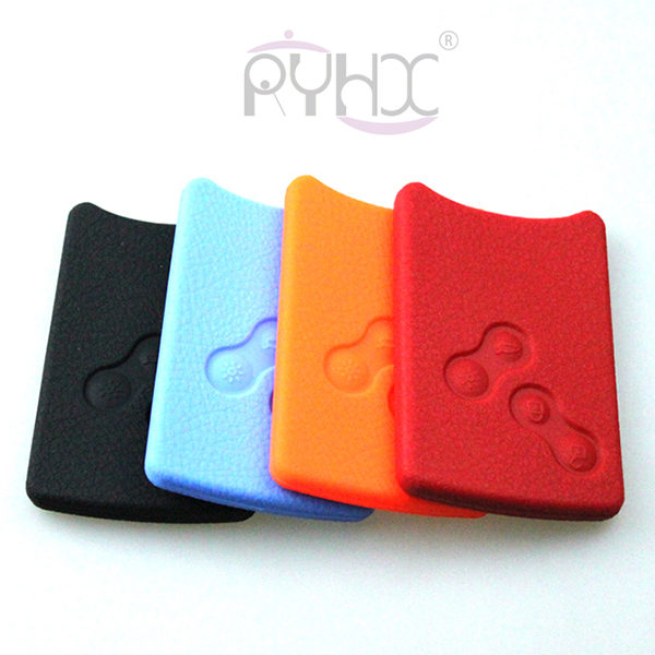 colorful and beautiful silicone rubber car key remote cover protector case for 4 button Renault Laguna Megane Koleos.
