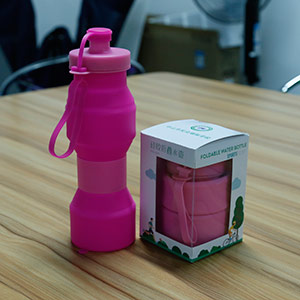 Project of 1000pcs collapsible bottle
