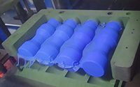 collapsible water bottle mold