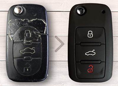 silicone car key cover make the key more beautiful.