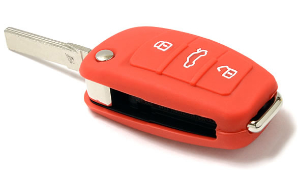 Audi A1 silicone key protector(orange)