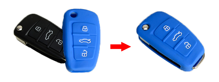 silicone key protector for Audi A1