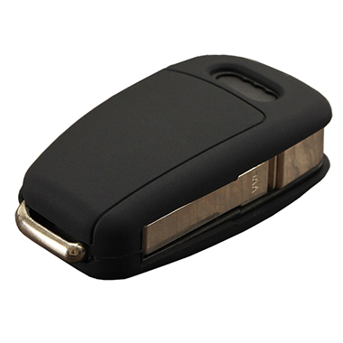 Black siliocne key shell for Audi A6 remote