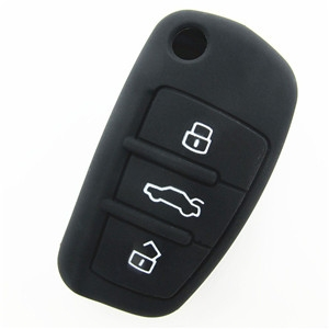 Silicone key fob cover for Audi A1-Wholesale Custom