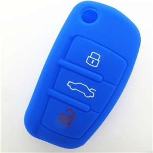 Audi A1 silicone key fob cover-Wholesale Custom