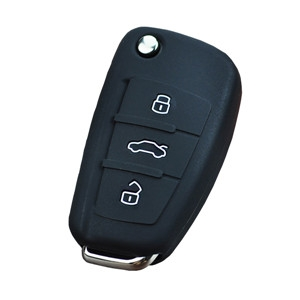Silicone car key pouch for Audi A1