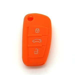 Silicone key shell for Audi A1-Wholeslae Custom