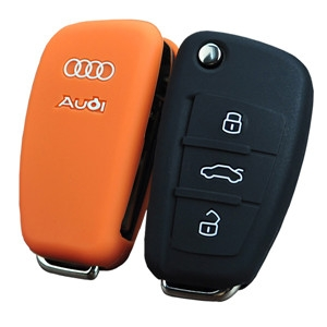 Audi A4 silicone key case-Wholesale Custom
