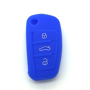 Silicone car key pouch for A...