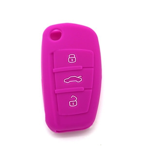 Silicone auto key cover for A...